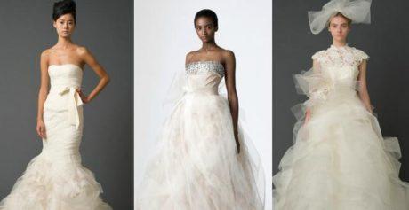 FOTO: Svatební šaty od Very Wang
