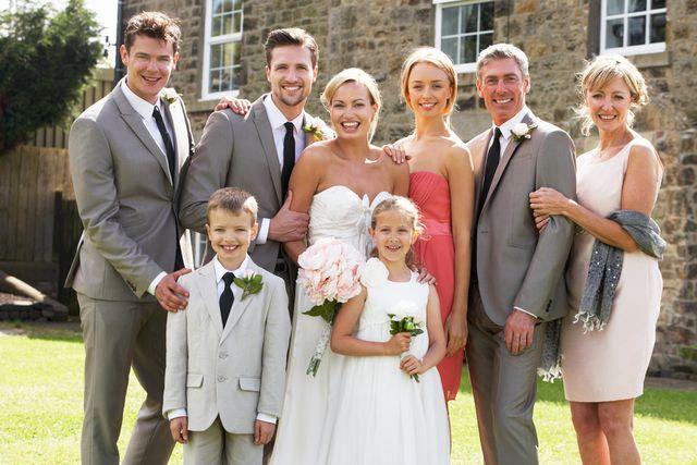 Svatební rodinné foto
