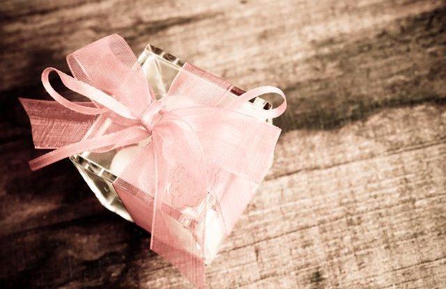 Svatební výslužka, svatební dáreček