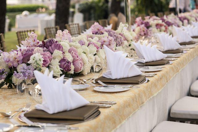 Svatební tabule a stůl