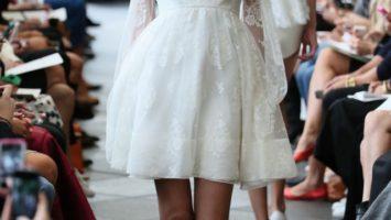 krátké svatební šaty