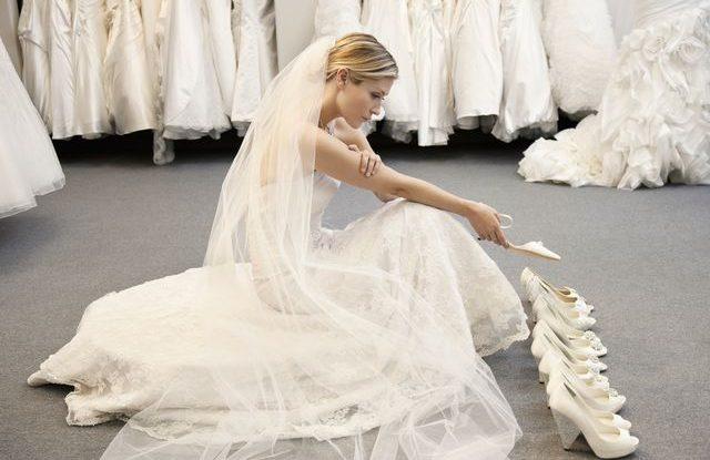 svatební šaty na poslední chvíli
