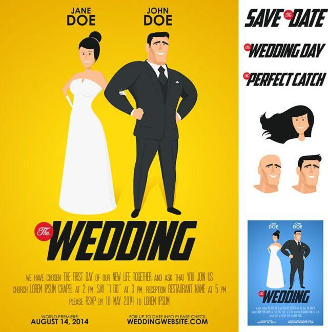 Vtipné svatební oznámení, netradiční svatební oznámení