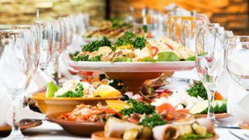 Svatební jídla, svatební menu
