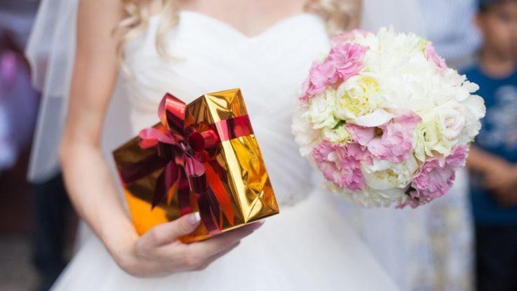 Jak poděkovat za svatební dary