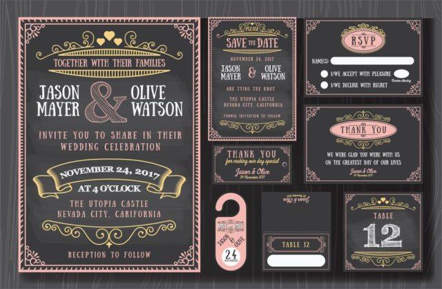 Vintage svatební oznámení, netradiční svatební oznámení