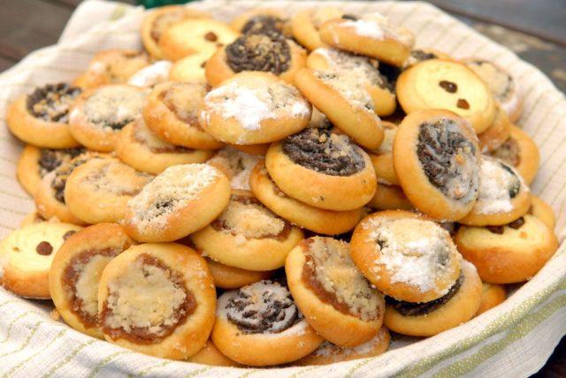 svatební cukroví, svatební koláčky