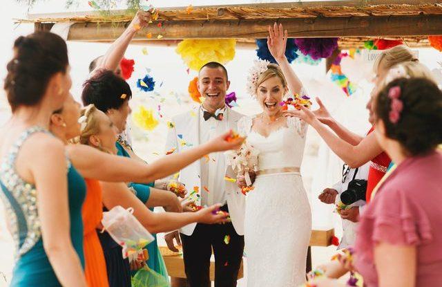 Barevná svatba