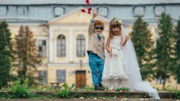Děti nejsou zvané na svatbu