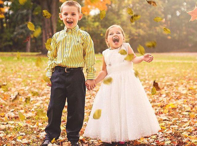 Svatba malé holčičky