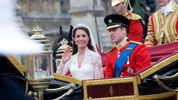 Etiketa na královské svatbě