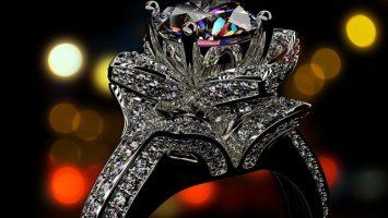 Diamantový zásnubní prsten