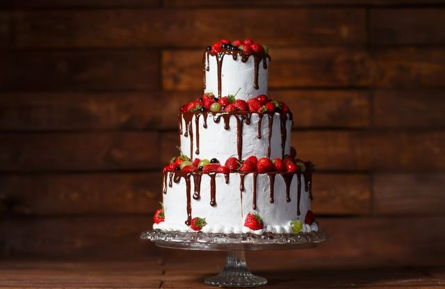 Svatební dorty 2018