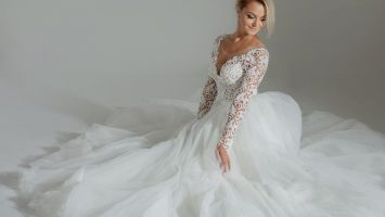 Materiály na svatební šaty