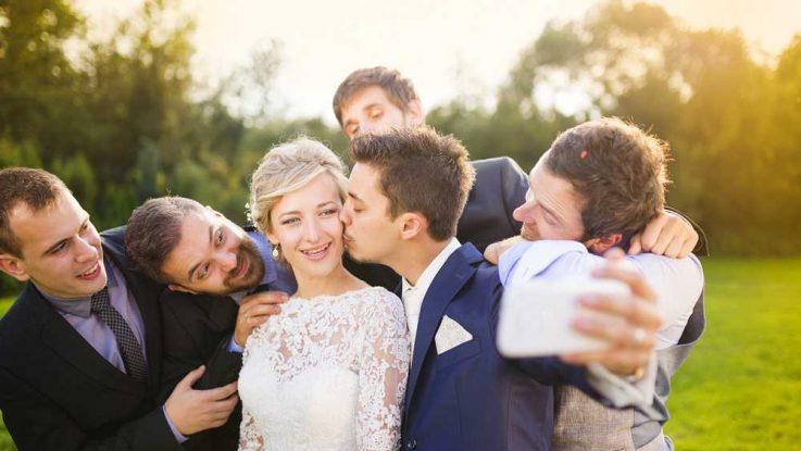 Nejlepší přítel na svatbě, svatební focení