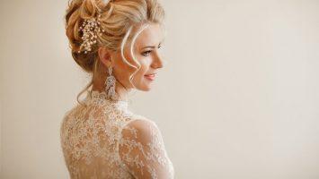 Svatební účes sama