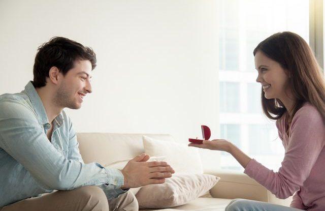 Žádost o ruku ženou
