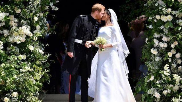 Květiny z královské svatby