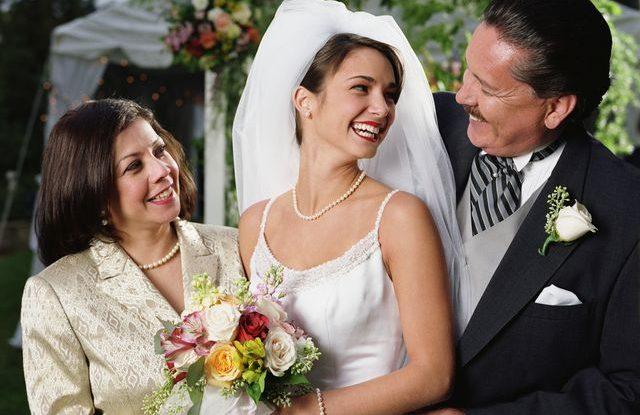Děkovný dopis rodičům na svatbě