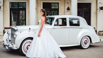 Svatební auto pro nevěstu