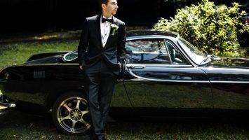 Svatební auto pro ženicha