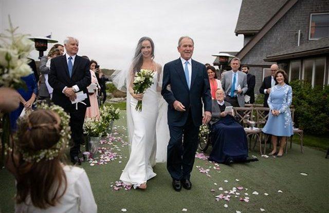 Svatba Barbara Bushova