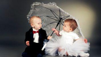 Svatební oznámení s rodinou