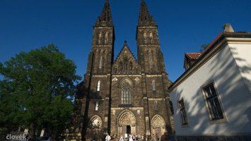 Kostel na Vyšehradě