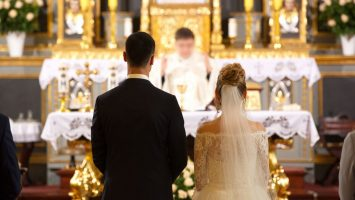 Svatba v kostele