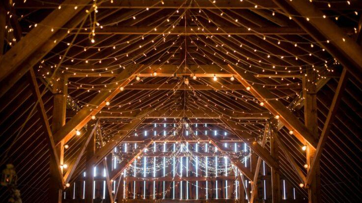 Osvětlení na svatbu