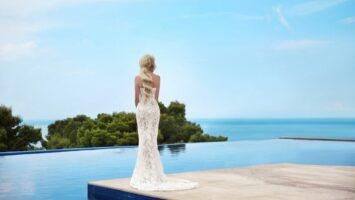 Svatební šaty jako mořská panna
